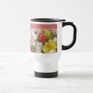 Tasses de fleur de bouquet floral