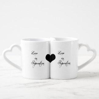 Tasses de fond spéciales d'amant de Valentine !