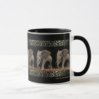 Tasses de marche et Drinkware d'éléphants