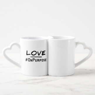 Tasses de #OnPurpose d'amour