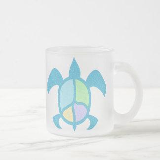 Tasses de tortue de mer de paix