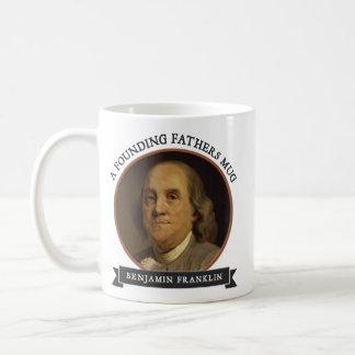 Tasses des pères fondateurs : Ben Franklin