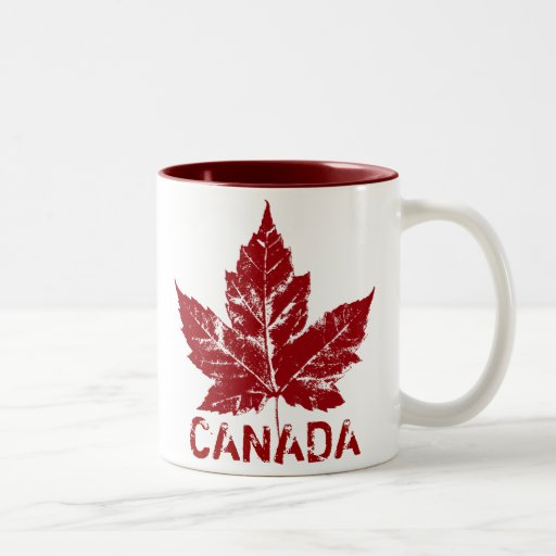 Tasses et tasses du Canada de cool de tasse de caf