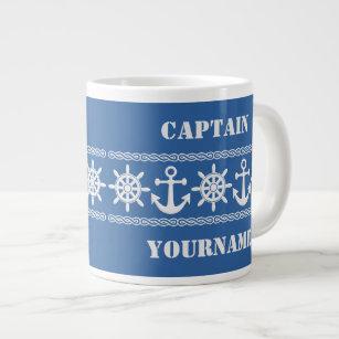 Tasses faites sur commande nautiques des textes et