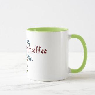 Tasses multiples de jour de café