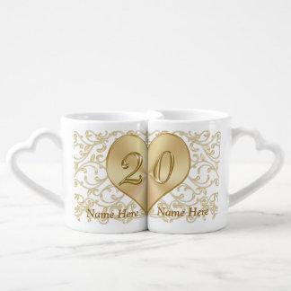 Tasses personnalisées de cadeau d'anniversaire de