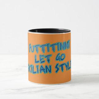 Mug Tasses siciliennes de style--Laissez lui allez