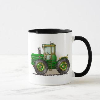 Tasses vertes de tracteur de monstre