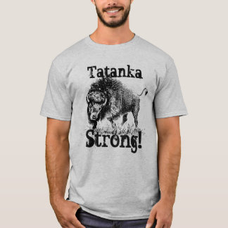 """""""Tatanka fort"""" avec le bison américain T-shirt"""