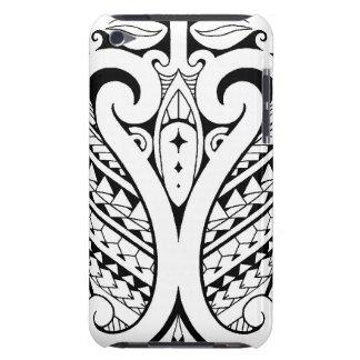Tatoo polynésien tribal avec les éléments Samoans Étui iPod Touch