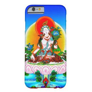 Tatouage blanc Tara de thangka tibétain oriental f Coque iPhone 6 Barely There