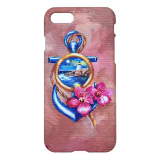 Tatouage d'ancre coque iPhone 7