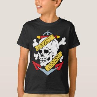 Tatouage de Davey Jones T-shirt