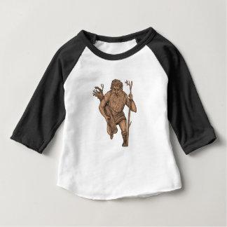 Tatouage de personnel de Runk d'arbre de Leshy T-shirt Pour Bébé