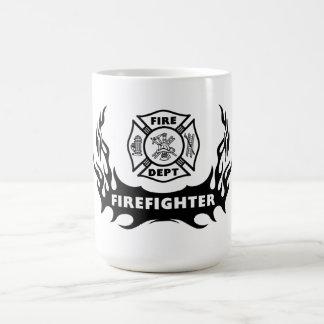 Tatouage de sapeur-pompier mug