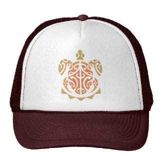 Tatouage de tortue de mangue et de chaux casquette de camionneur