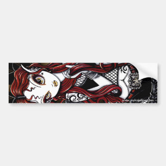 Tatouage d'une chevelure rouge Fae de Stevie Autocollant Pour Voiture