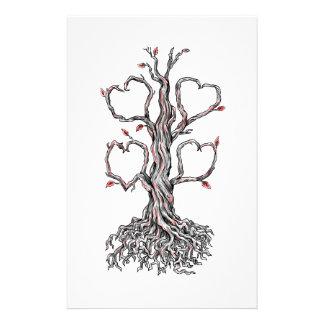 Tatouage Gnarly de coeur de chêne Papeterie