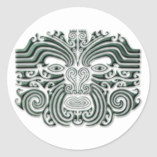 Tatouage-pierre de Maroi Adhésif Rond