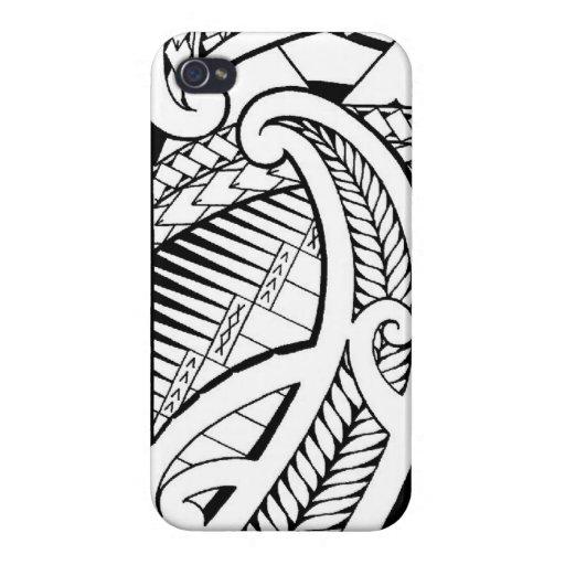 tatouage samoan avec les l ments maoris tui iphone 4 4s zazzle. Black Bedroom Furniture Sets. Home Design Ideas