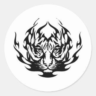 tatouage sticker rond