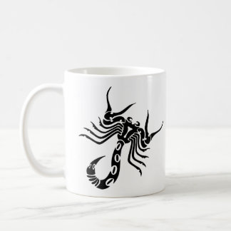 Tatouage tribal de scorpion mug