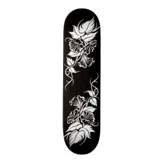 tatouage tribal floral de vigne skateboard 19,7 cm