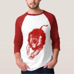 Tau de l'habillement de lions (rouge) t-shirt