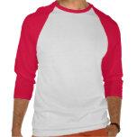 Tau de l'habillement de lions (rouge) t-shirts