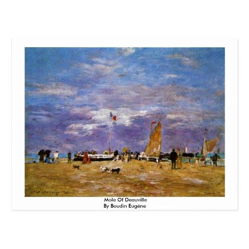 Taupe de Deauville par Boudin Eugène Cartes Postales