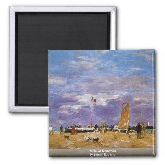 Taupe de Deauville par Boudin Eugène Magnet Carré