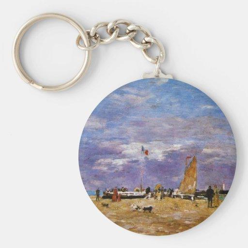 Taupe de Deauville par Boudin Eugène Porte-clés