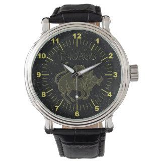 Taureau d'or montres bracelet