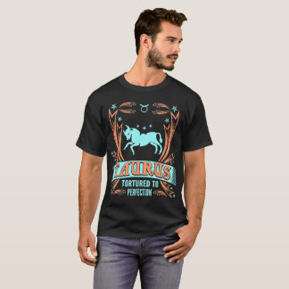 Taureau torturé au T-shirt de zodiaque de