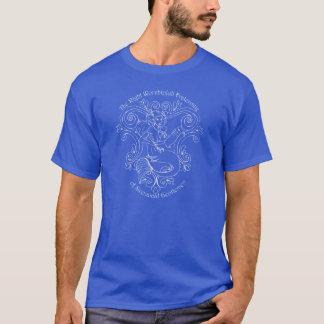 Taverne de sirène (contour blanc) t-shirt