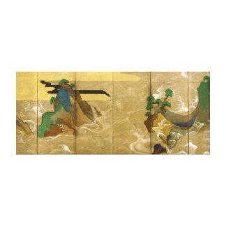 Tawaraya Sotatsu ondule à Matsushima Toiles