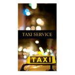 Taxi, cabine, conducteur, carte de visite de trans