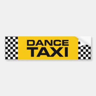 Taxi de danse autocollant de voiture