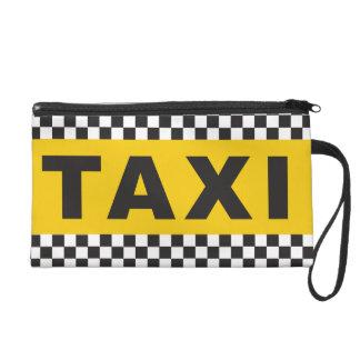 Taxi ! Embrayage Sacs À Main Avec Dragonne