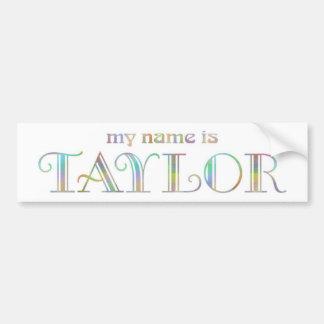 Taylor Autocollant De Voiture