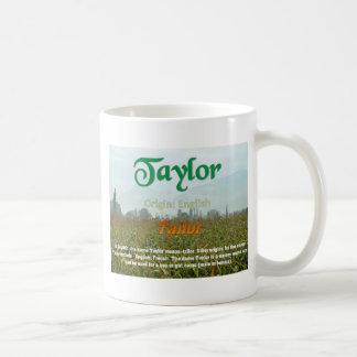 Taylor Tasses À Café