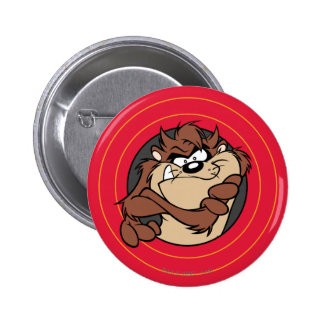 TAZ™ par les cercles LOONEY de TUNES™ Badge