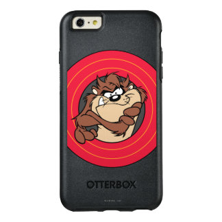 TAZ™ par les cercles LOONEY de TUNES™ Coque OtterBox iPhone 6 Et 6s Plus