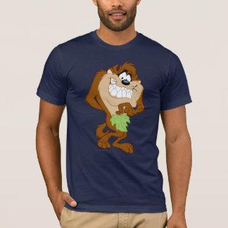 TAZ™ tenant une feuille T-shirt