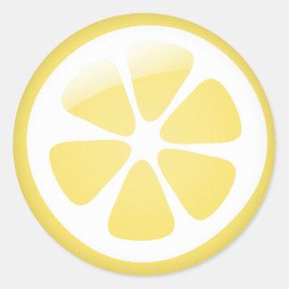 {Tba} Autocollants de citron