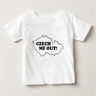 Tchèque je ! t-shirt pour bébé