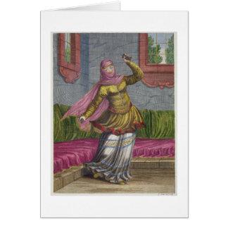 Tchinguis, ou danseur turc, XVIIIème siècle Cartes