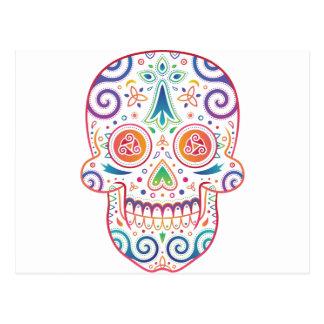 tête_mort_celtique carte postale