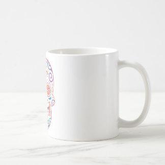 tête_mort_celtique mug blanc