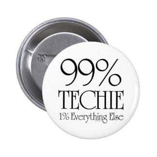 Technicien de 99% badges avec agrafe